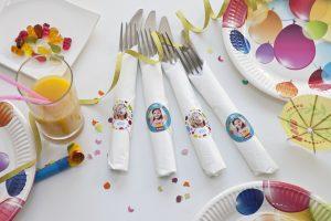 stickers voor kinderfeestje