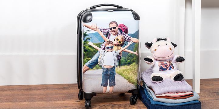 alles voor je vakantie - gepersonaliseerde koffer