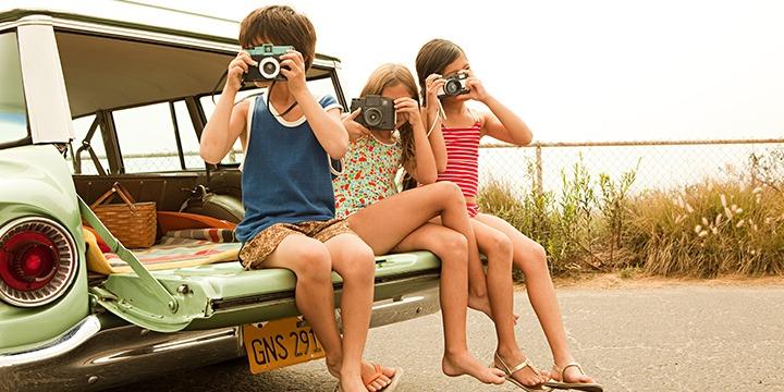 Laat de kids foto's maken voor je reisverslag