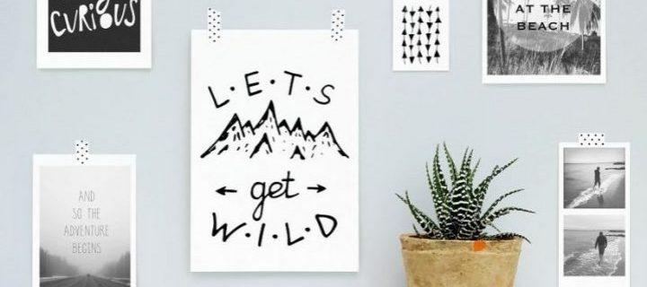 Maak je eigen wanddecoratie!