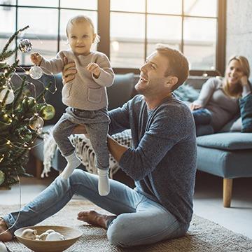 Kerst met familie en vrienden