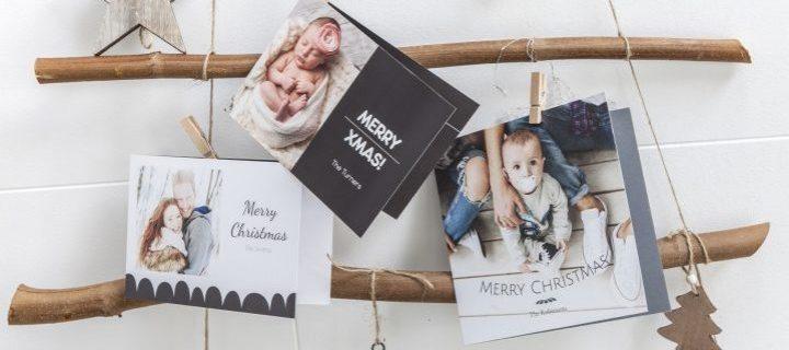 Persoonlijke kerstkaarten, 5 tips voor een unieke kerstgroet!