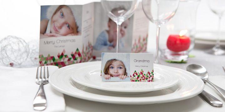 Kerst 2017 - Tips voor onvergetelijke kerstdagen - het kerstdiner naamkaartje