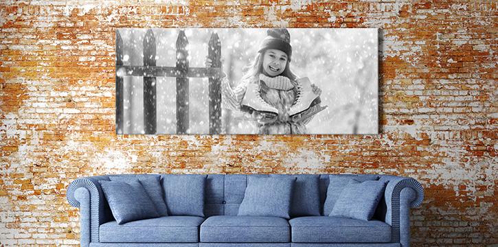canvas zwart wit