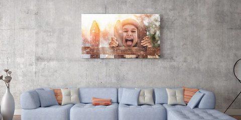 Je eigen foto op canvas!
