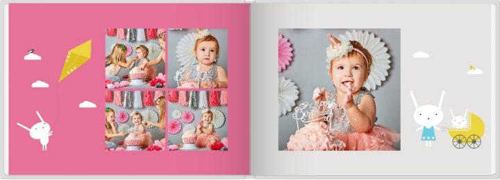 Verjaardagboek design