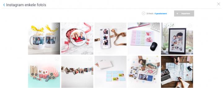 Instagram fotos smartphoto