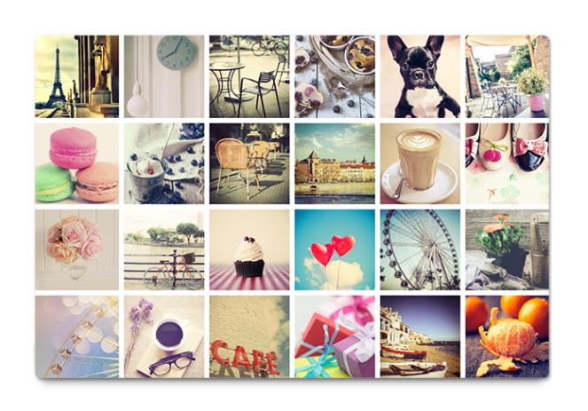 Instagram fotos op canvas