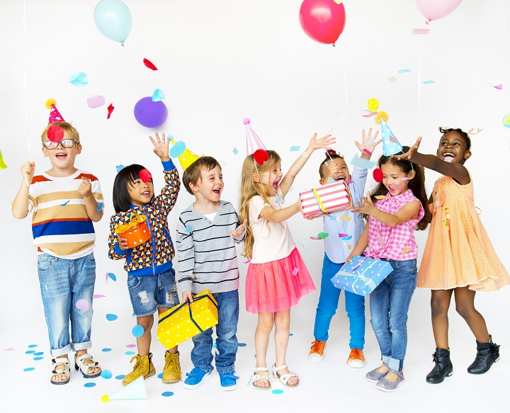 succesvol kinderfeestje
