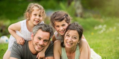 De mooiste familiefoto's maken voor aan de muur