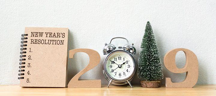 19 simpele voornemens die jouw 2019 een stuk leuker maken!