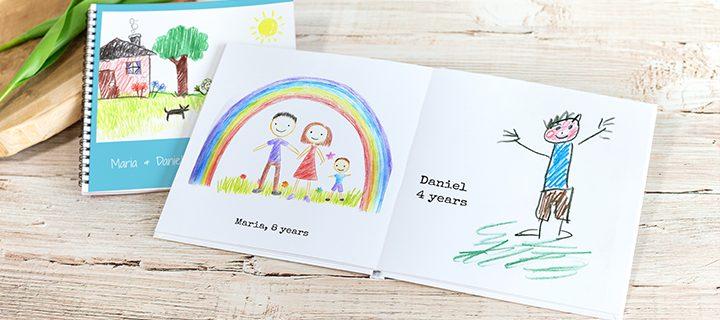 6 ideeën voor tekeningen van jouw kinderen