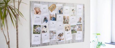 De leukste wandkalender maak je zelf!