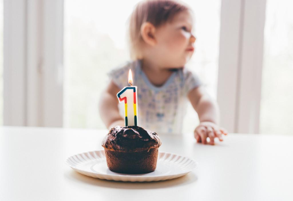 Mijlpaal: eerste verjaardag