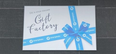 Nieuw: de Smartphoto Gift Factory!