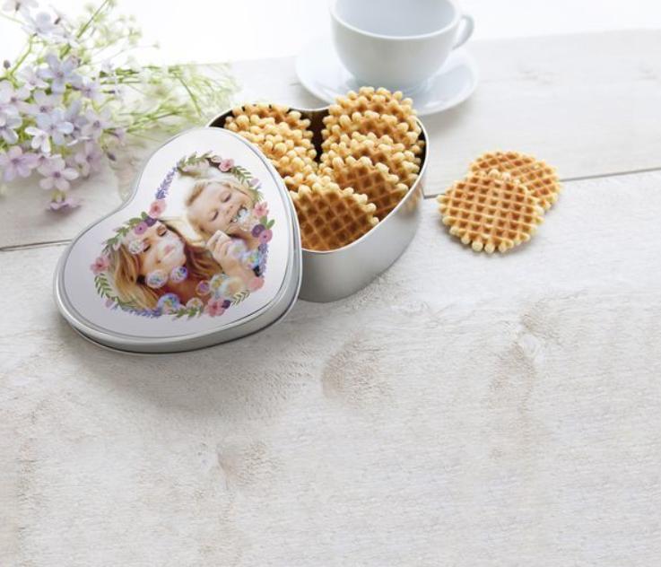 Valentijnsdag ideeën – gevulde koekjestrommel