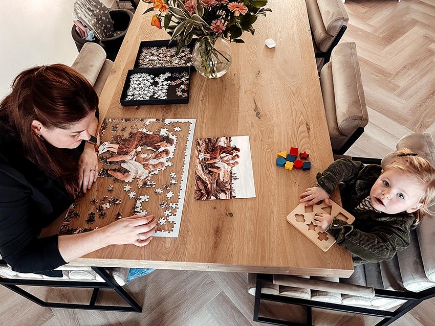 Klantcreaties: puzzel met foto