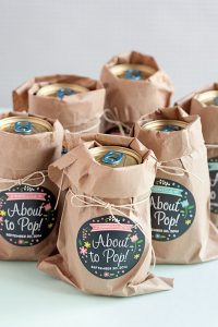 cadeau babyborrel #4. About to Pop