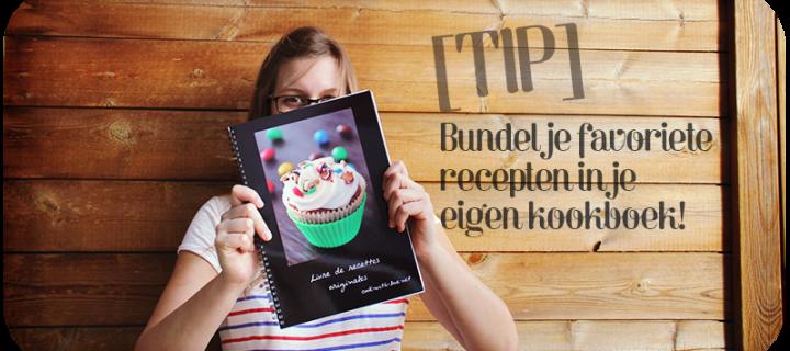 Zelf een kookboek maken met je favoriete recepten