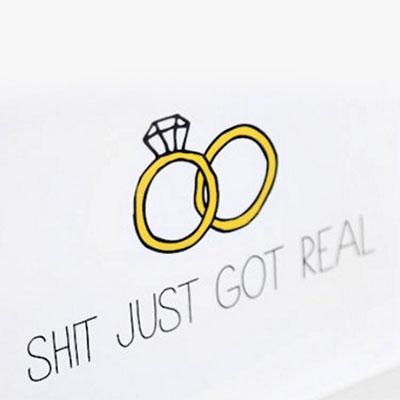Huwelijksaankondiging-Tijd voor het echte werk