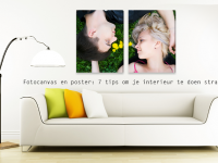Fotocanvas en poster: 7 tips om je interieur te doen stralen