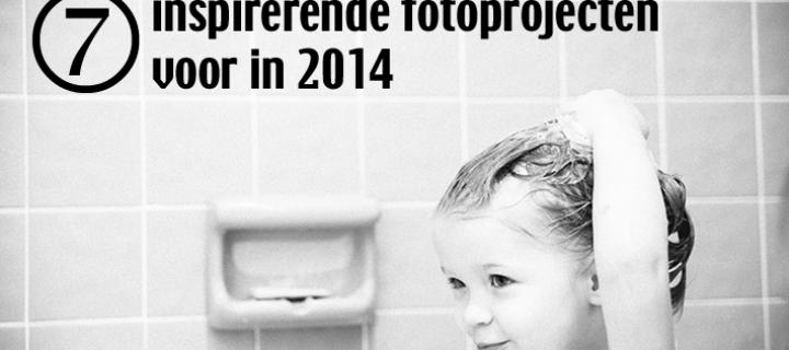 7 inspirerende fotoprojecten voor in 2014