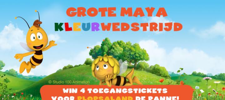 De grote Maya kleurwedstrijd!
