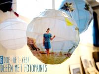 6 doe-het-zelf ideeën met fotoprints