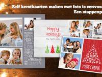 Zelf kerstkaarten met foto maken is eenvoudig! Volg ons stappenplan:
