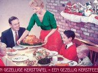 Een gezellige kersttafel = een gezellig kerstfeest!