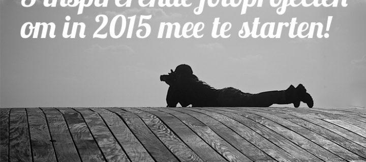 5 inspirerende fotoprojecten om mee te beginnen op 1 januari 2015