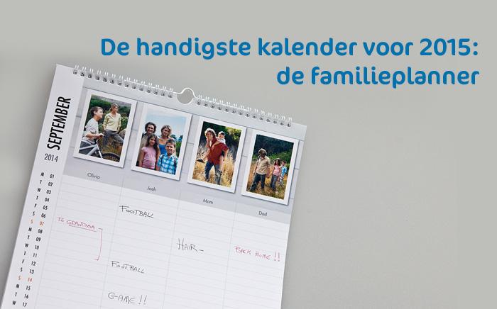 Betere De handigste kalender voor 2015: de familieplanner TF-78