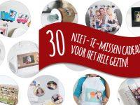 Nog op zoek naar een origineel kerstcadeau? Ontdek onze 30 tips voor het hele gezin!