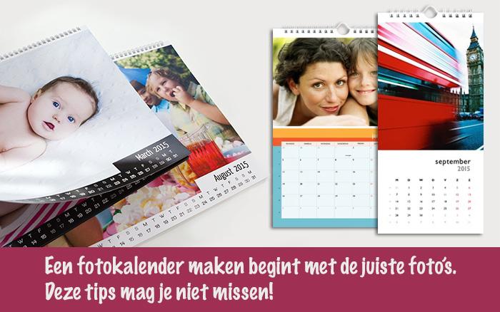 Fotokalender maken titel