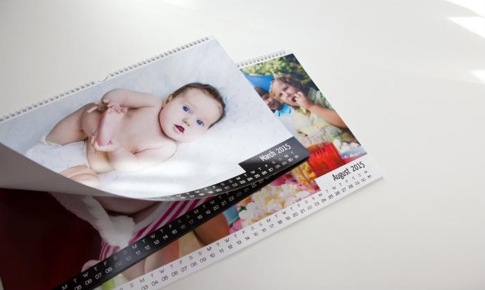 Fotokalender maken baby