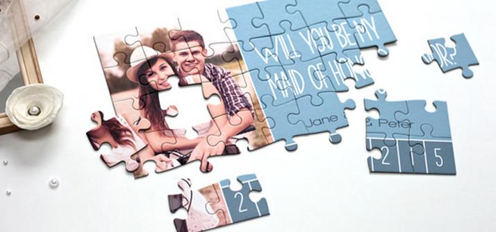 huwelijksuitnodiging - puzzel