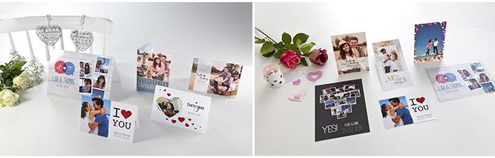 huwelijksuitnodigingen - fotokaarten