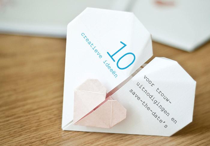 10 Creatieve Huwelijksuitnodigingen En Save The Date S
