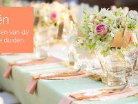 Trouwdecoratie: 8 Creatieve manieren om je gasten naar de juiste tafel te begeleiden