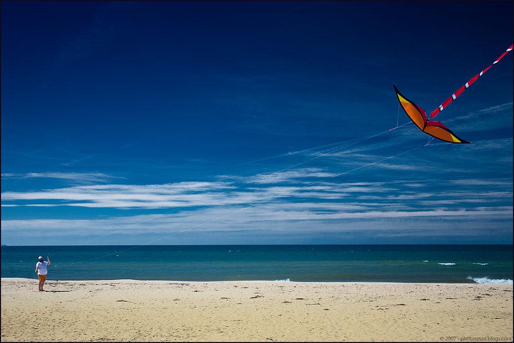 zomerherinneringen - vliegeren