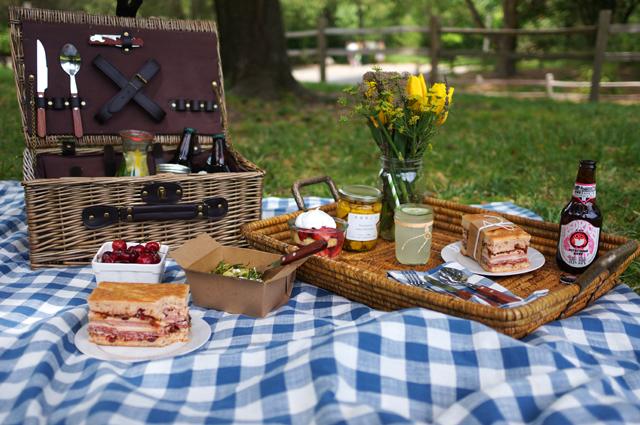 zomerherinneringen - picnic