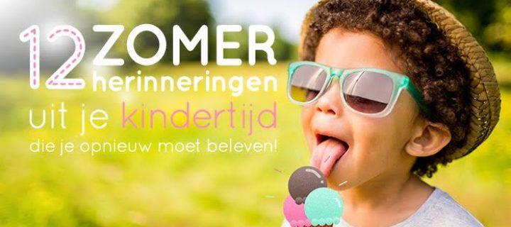 12 zomerherinneringen uit je kindertijd die je opnieuw moet beleven!