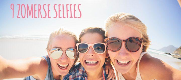 Deze 9 selfies moet je gemaakt hebben deze zomer!