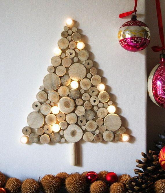 Kerstboom in hout zelf maken