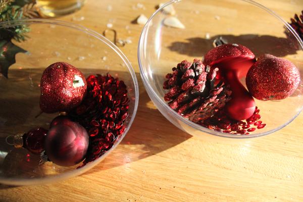 Transparante kerstballen zelf maken