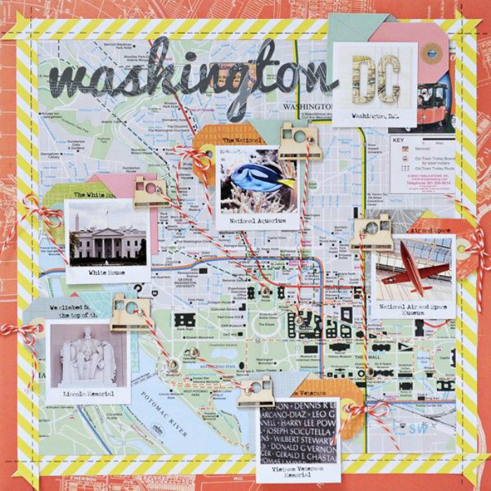 scrapbook-maken-toeristenkaart