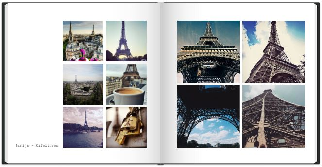 Instagram-fotoboek-hashtag