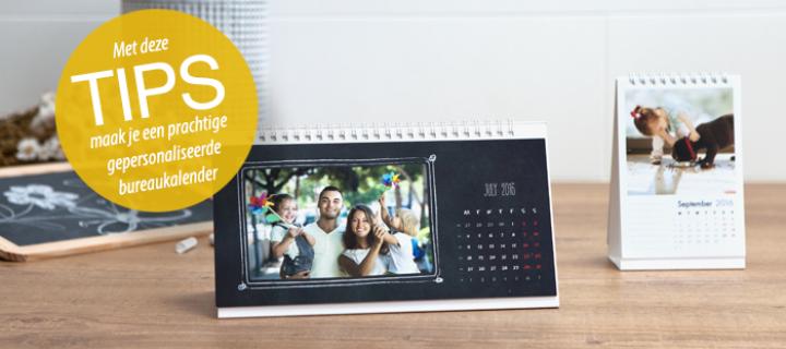 Elke dag een goed humeur dankzij je gepersonaliseerde bureaukalender