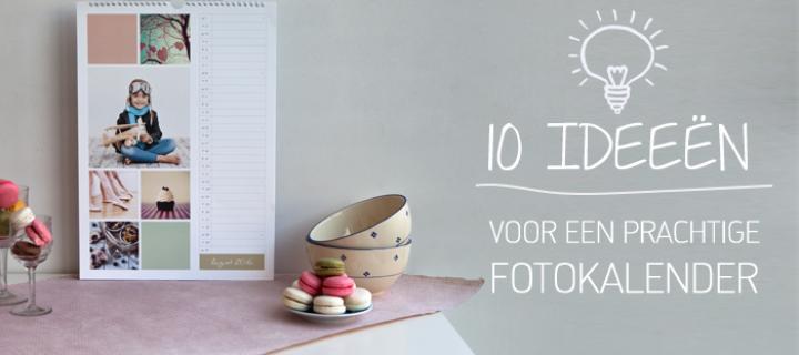 Kies een passend design voor jouw persoonlijke fotokalender!