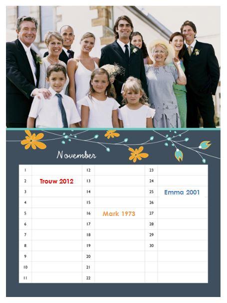 Eigen-verjaardagskalender-maand